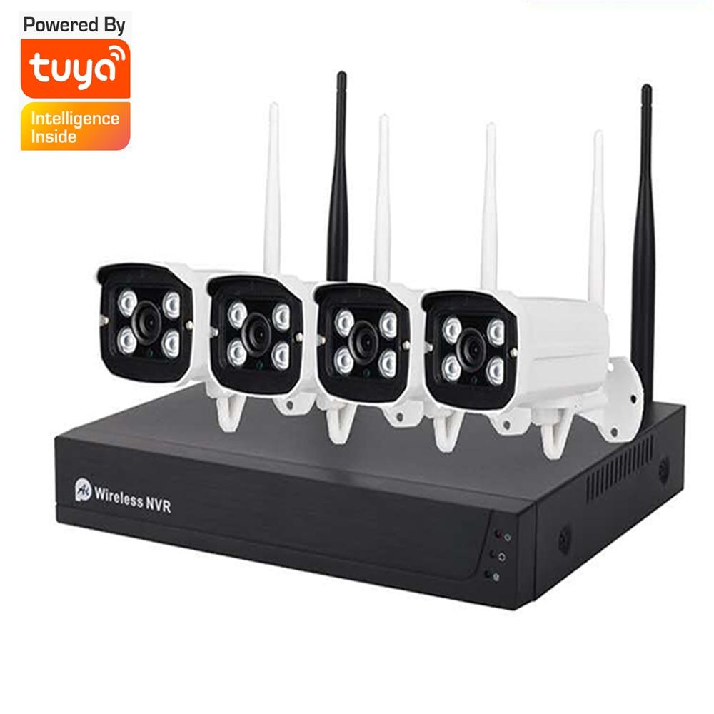 Беспроводная IP-камера наружного видеонаблюдения с поддержкой Wi-Fi, 2 МП