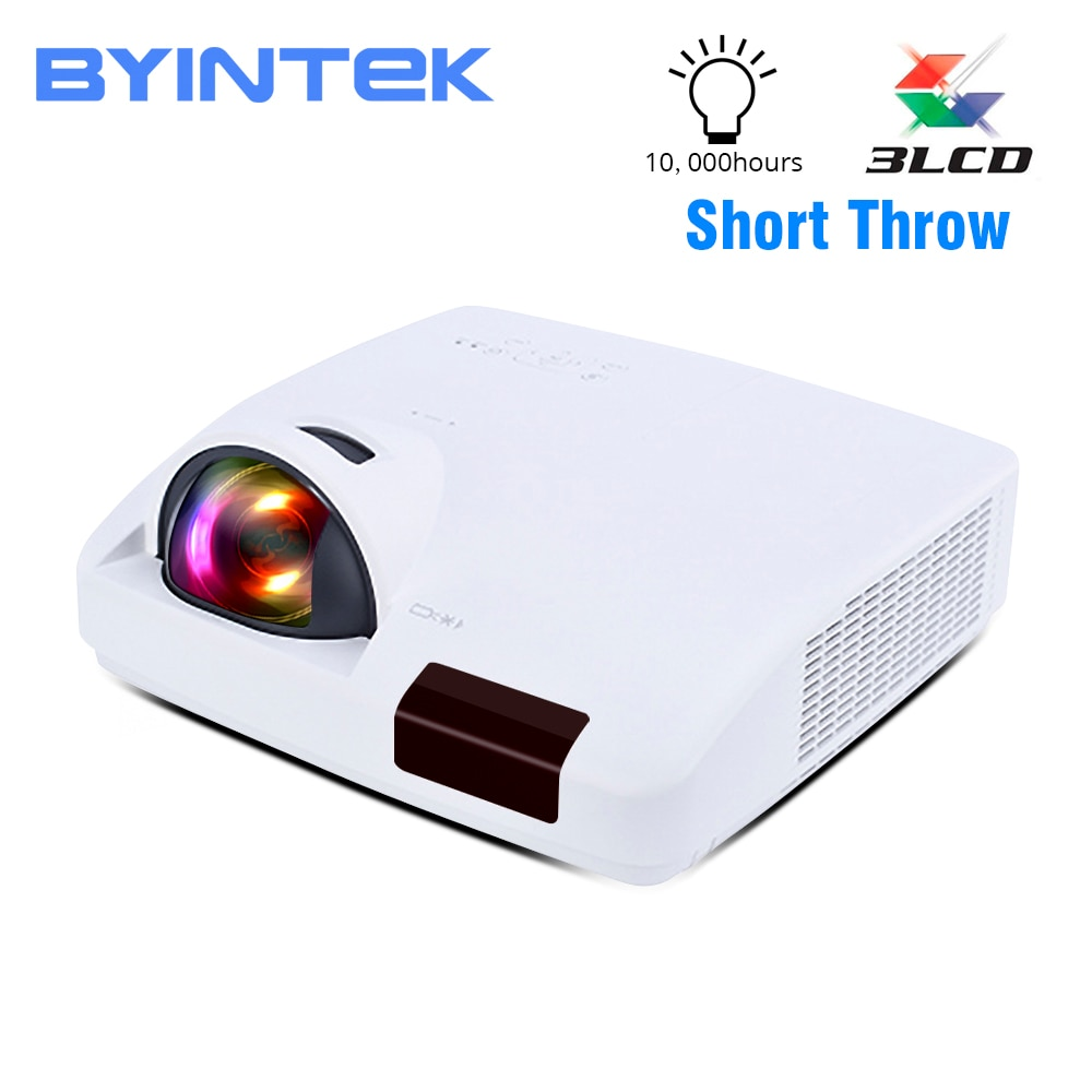 BYINTEK CLOUD C600WST Short Throw Daylight Hologram 3LCD Video WXGA 1080P FUll HD Projector for Cinema Education Business