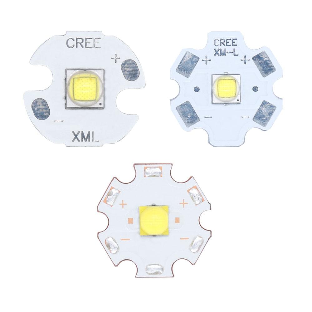 Лучшая цена, светодиодный фонарик 3V 3535 5050 1-3W 5W 10W полной мощности Светодиодный Автомобильные фары, лампа из бисера, Белый 6500K 10000K с 20 мм алюмин...