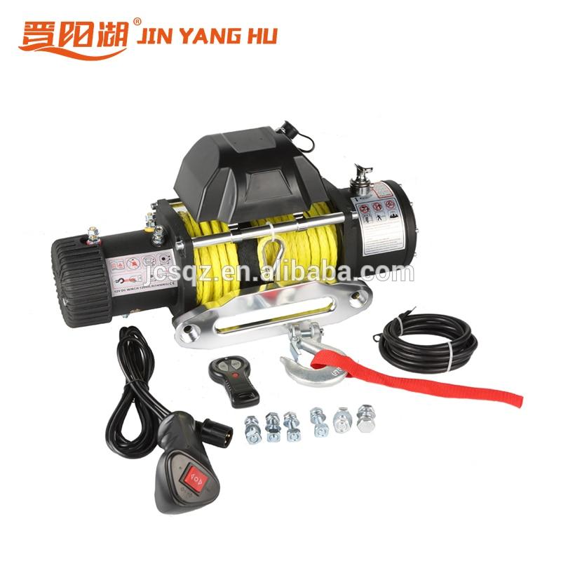 Cabrestante eléctrico mini 12000 lbs 12v