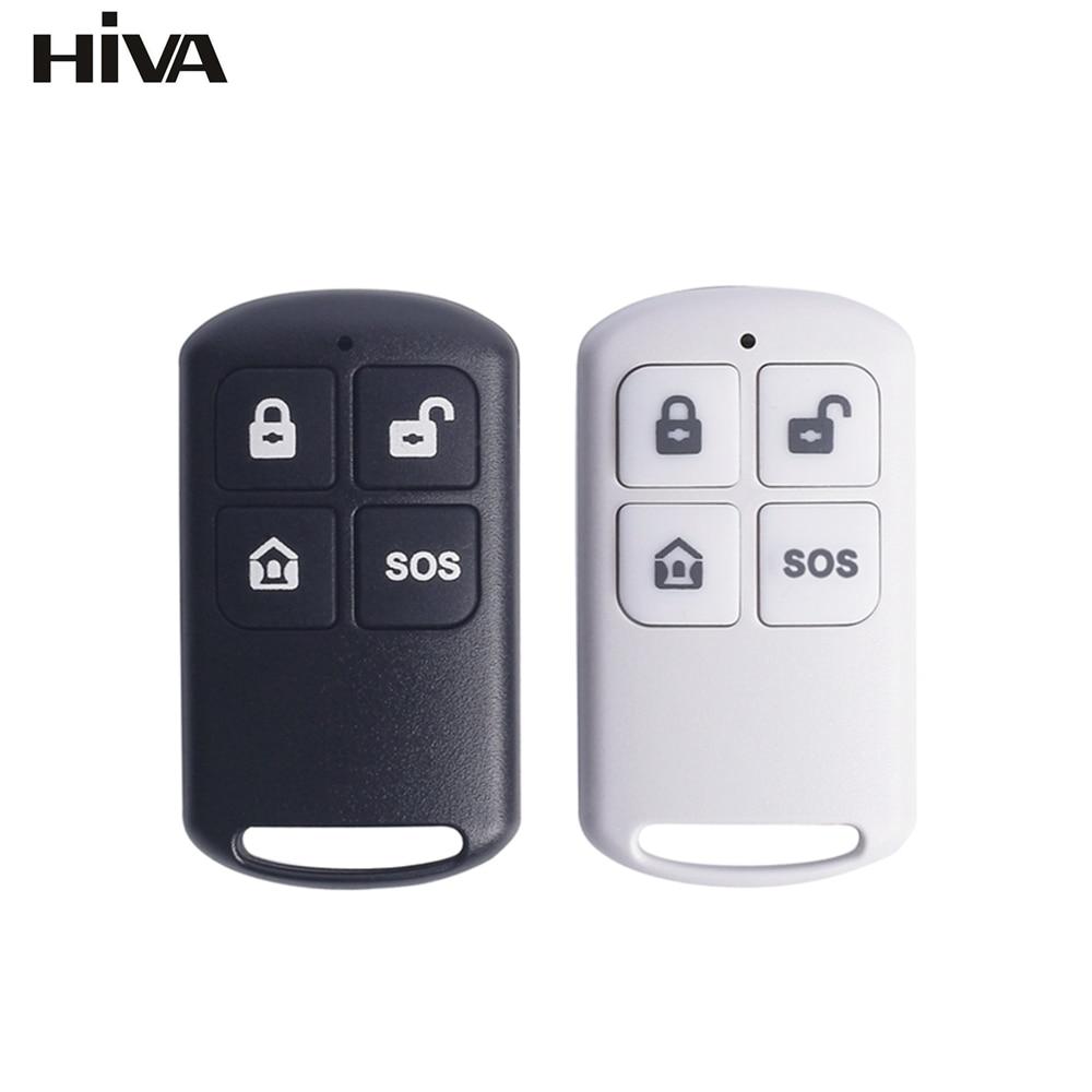 Беспроводной пульт дистанционного управления HIVA PF-50, 433 МГц, детектор Arm & Disarm для домашней охранной сигнализации, охранная система PG-103 105 106 107...