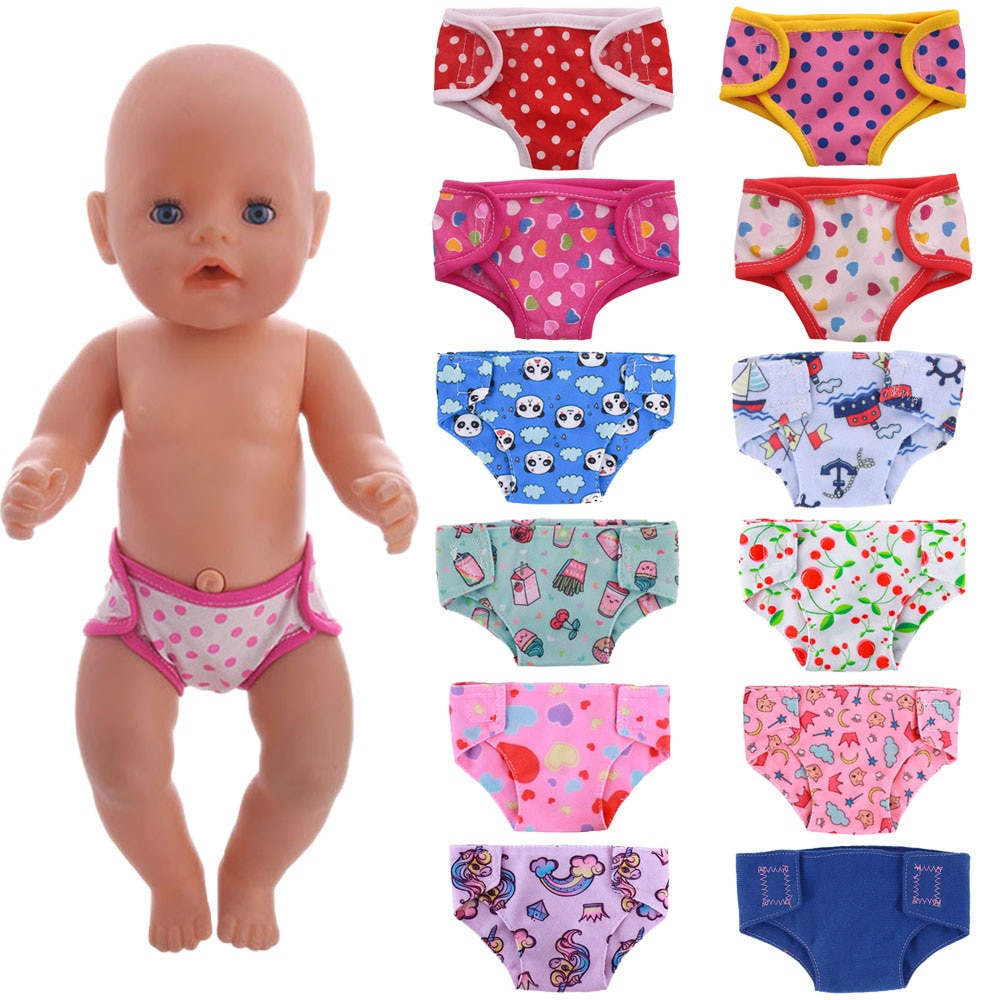 Doll Clothes Underwear Choose Our Generation For 18 Inch American Doll&Born Baby Doll Clothes 43 cm,