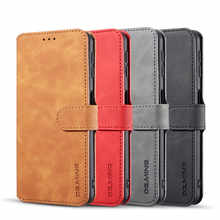 Case For Samsung Galaxy A7 2018 Leather Luxury Magnetic Leather Wallet Phone Case Protective Shockproof Full Cover