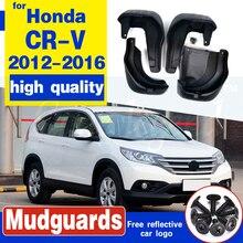 Набор литых брызговиков для Honda CR-V CRV 2012 - 2016 Брызговики передние задние брызговики крыло брызговиков 2013 2014 2015