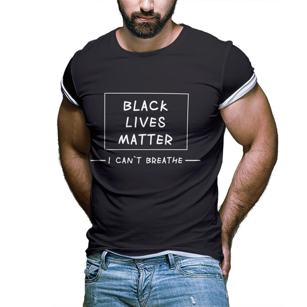 Рубашка 2021 с буквенным принтом, одежда для отца, футболки, топы, мужская черно-белая футболка с персонажами фильма, Универсальная быстросохн...