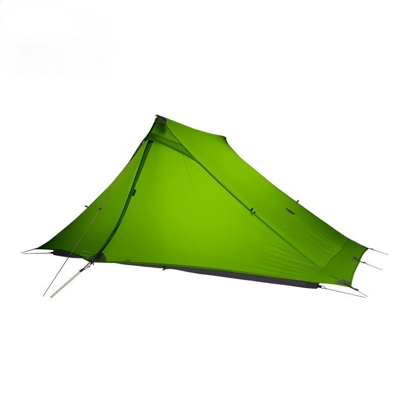 3F UL GEAR LanShan 2 pro 2 شخص في الهواء الطلق خفيفة التخييم خيمة 3 الموسم المهنية 20D النايلون كلا الجانبين سيليكون خيمة