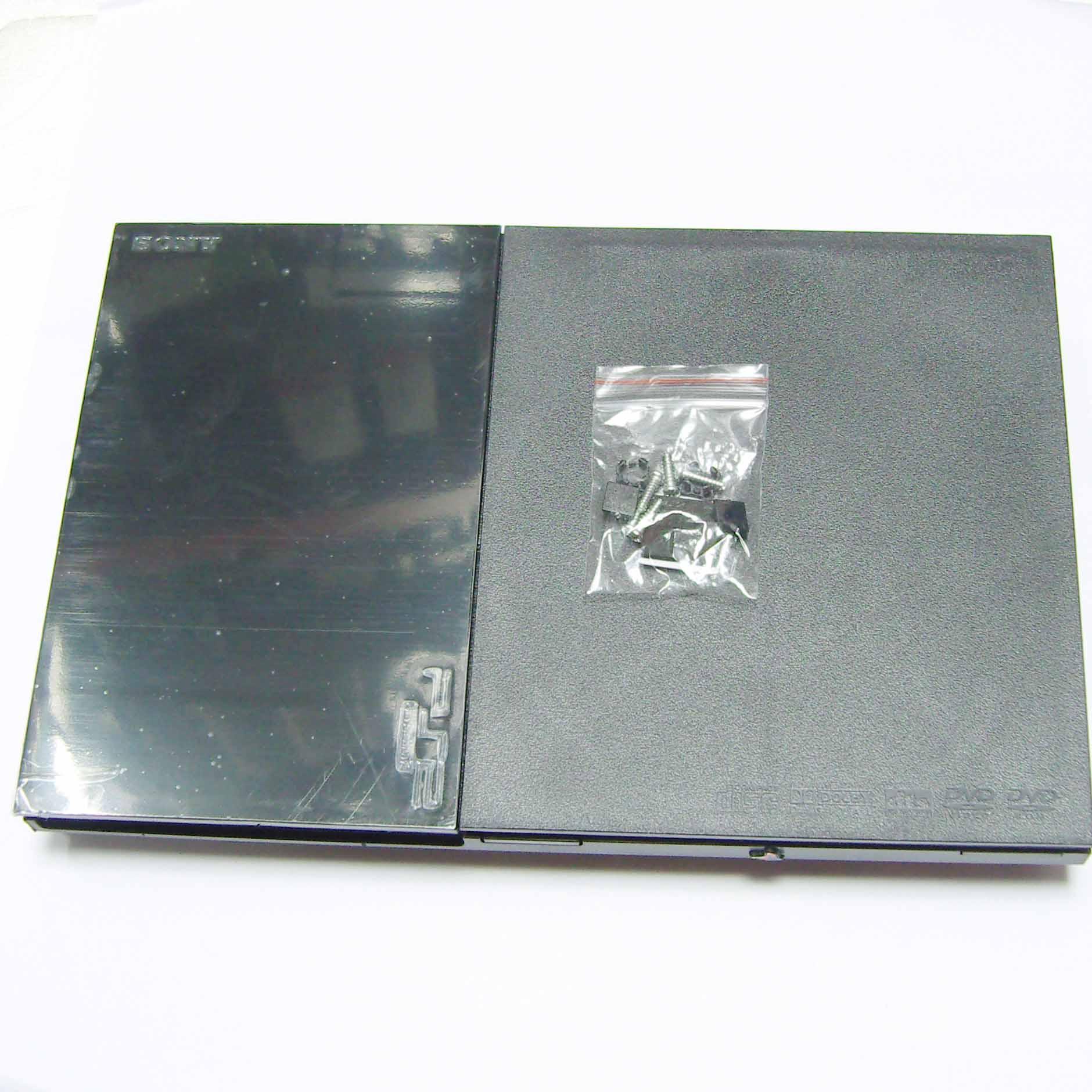 Carcasa completa de alta calidad cubierta de host para PS2 Slim 9000X9 W 90000 para consola PS2