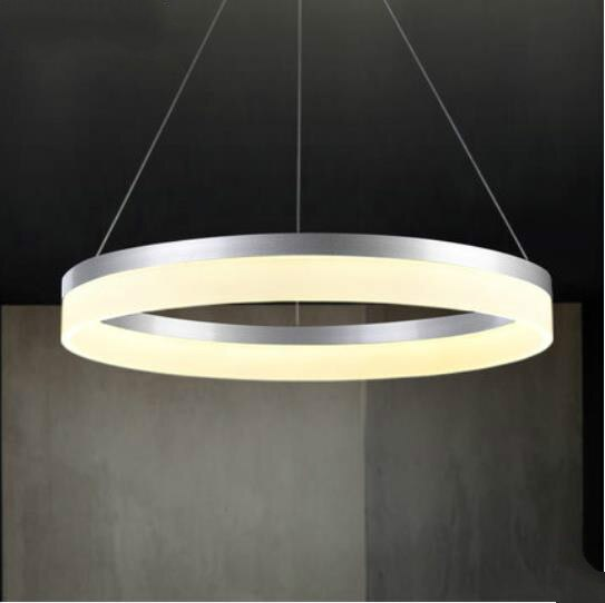 luminaria pendente de led moderna para sala de jantar pingente de luz decoracao iluminacao suspensao