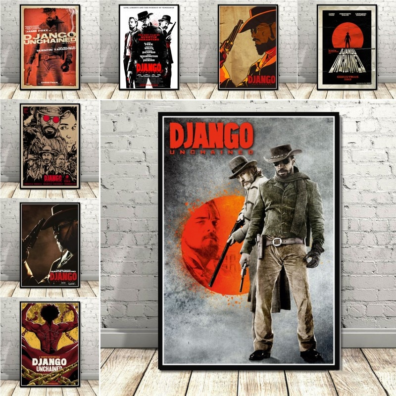classic-movie-quentin-tarantino-django-unchained-film-art-painting-poster-and-print-wall-art-picture-for-living-room-home-decor