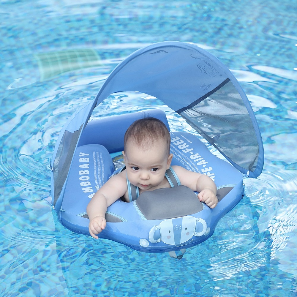 Mambobaby Non-inflatable Baby Floater Waist Swim Float Pool Accessories Toys...