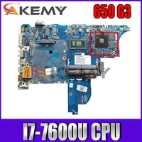 akemy916829 001 clooney 6050a2860101 mb a01 main board for hp probook 640 650 g3 laptop motherboard sr33z i7 7600u tested