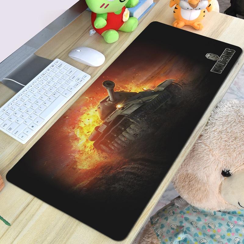 Alfombrilla de ratón de superficie de Control de juegos, alfombrilla de ratón de ordenador portátil, alfombrilla de ratón de mundo de tanques, papel tapiz de estilos de juegos ópticos MiceMat