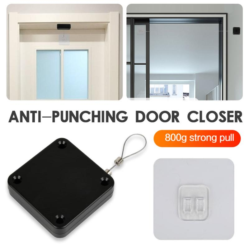 Sensor automático de Puerta sin perforación, Cierre de Puerta adecuado para todas...