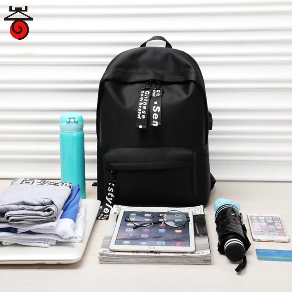 New Women Mini solid Backpack Men Backpacks School Backpack Bag Fashion Waterproof Female Travel Bag