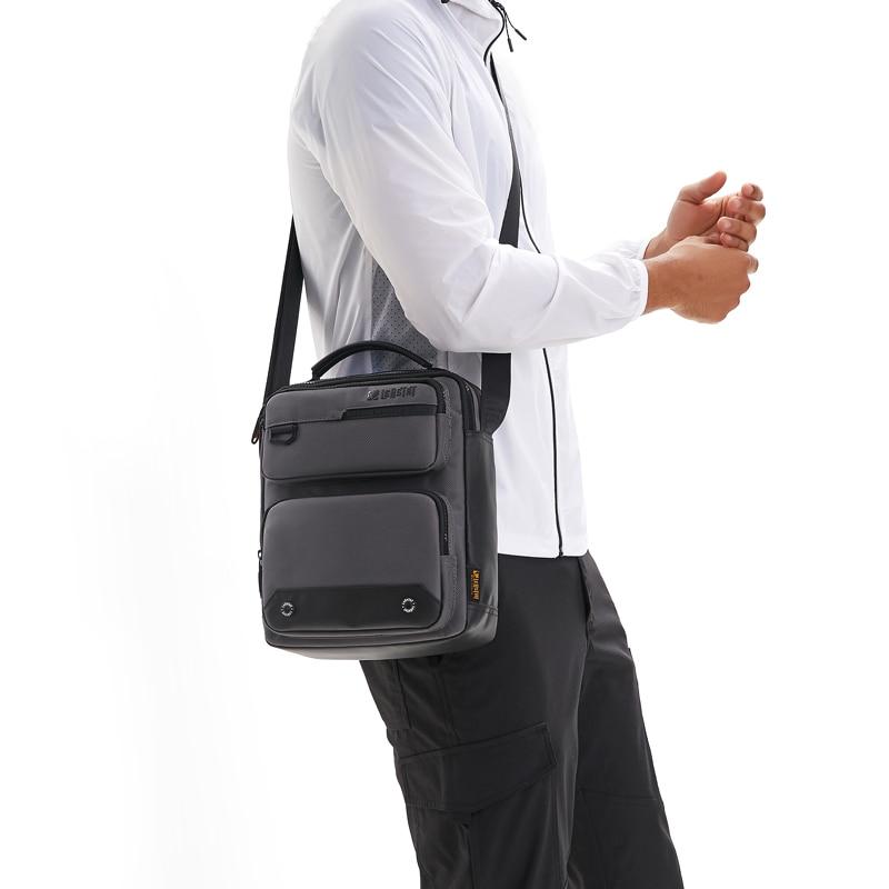 "Men's Messenger Bags Men Canvas Shoulder Bags For IPAD Mini 9.7"" Bag Man Crossbody Business Handbags Sacoche Homme Handtasche"