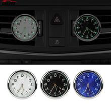 Air Outlet Decoration Car Clock Luminous Ornaments Analog Watch Quartz Clocks Car-styling