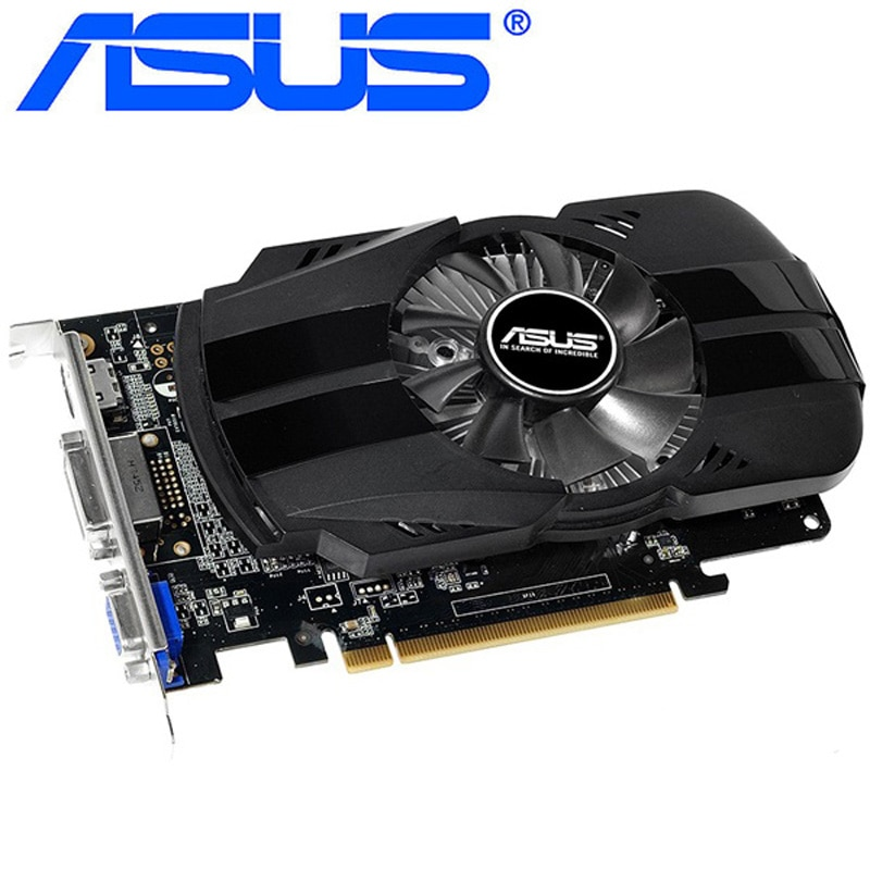 ASUS Graphics Card Original GTX 750 1GB 128Bit GDDR5  Video Cards for nVIDIA Geforce GTX750 Dvi Used VGA Card stronger than 650