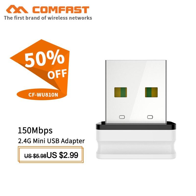 Adaptador inalámbrico con wifi para dispositivos electrónicos adaptador Mini de 300mbps, adaptador...