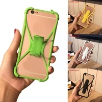 shrapnel bracket multifunctional protective cover universal for 4 phone soft case phone anti fall mobile silicone 5 5inch z5p2