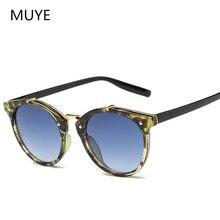 2020 Vintage Round Rivet Sunglasses Women Men Brand Designer Eyewear UV400 Gradient Female Luxury Ca
