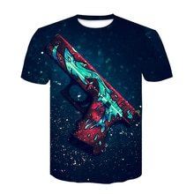 CS GO Game camiseta 2019 Hot Counter Strike Global Offensive CSGO hombres camiseta de alta calidad ropa de marca divertida 3D camiseta Tee