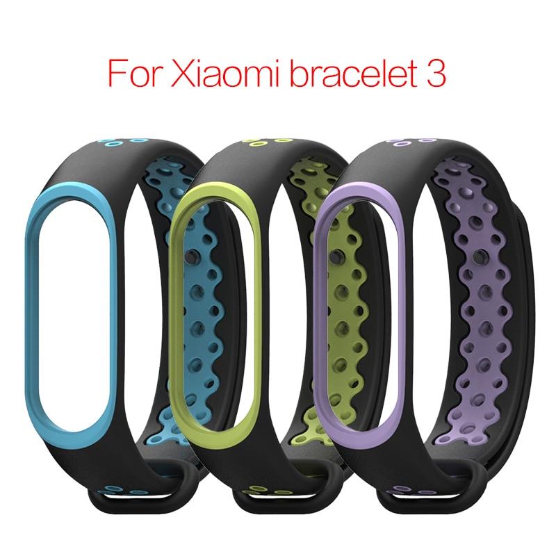 Pulsera para Xiaomi Mi Band 3 /4 correa de reloj TPU correa de muñeca para Xiaomi Mi Band 3 /4 accesorios pulsera Miband 3 Correa