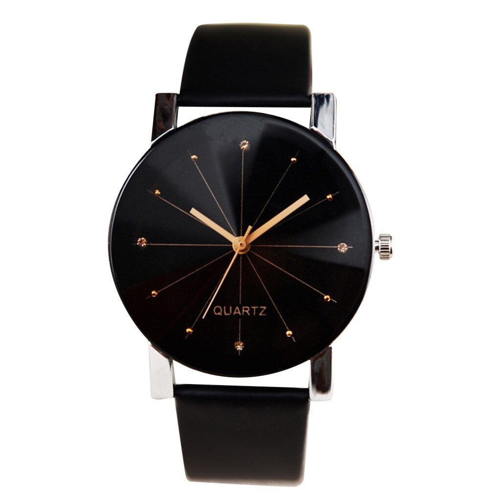 Women watches Casual Trending style Quartz watch Leather Band New Strap clock Analog Distinguished W