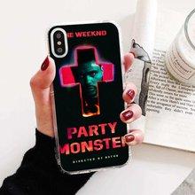 Silikon Telefon Deckt Die Weeknd xo Für Samsung Galaxy Hinweis 2 3 4 5 8 9 S2 S3 S4 S5 mini S6 S7 Rand S8 S9 Plus