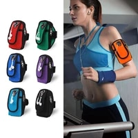 sports accessories universal 6 running bag arm band cell phone case jogging fitness gym cycling waterproof arm bag for mobile