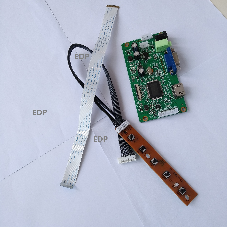 VGA LCD EDP كابل تحكم مجلس بطاقة لتقوم بها بنفسك لوحة رصد عدة ل 13.3