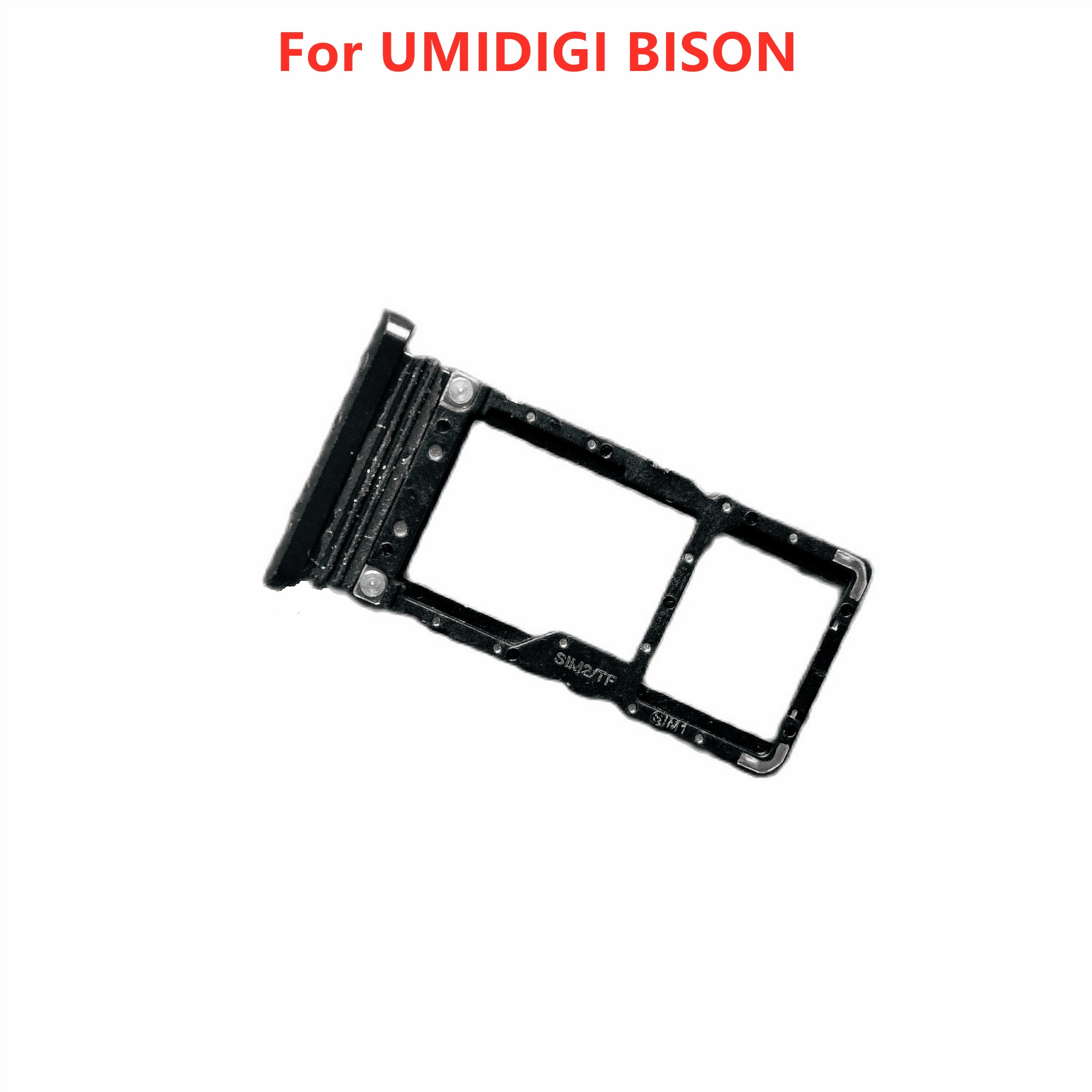 Nuevo Original UMIDIGI bisonte titular de la tarjeta de soporte para tarjeta SIM soporte para tarjeta Sim bandeja de tarjeta de la ranura de la bandeja de lector