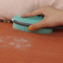Brosse de planche multifonction 2 faces   Outil de nettoyage rapide et efficace des poussières de poils danimaux de compagnie, brosse à lessive en Silicone