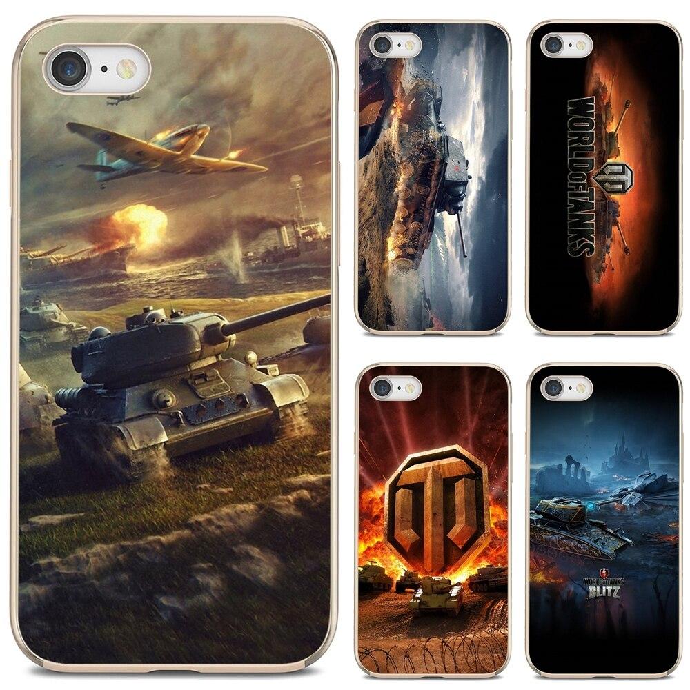 Mundo de tanques-juego-WOT-arte-para Samsung Galaxy S10E S20 FE Nota 10 20 borde...