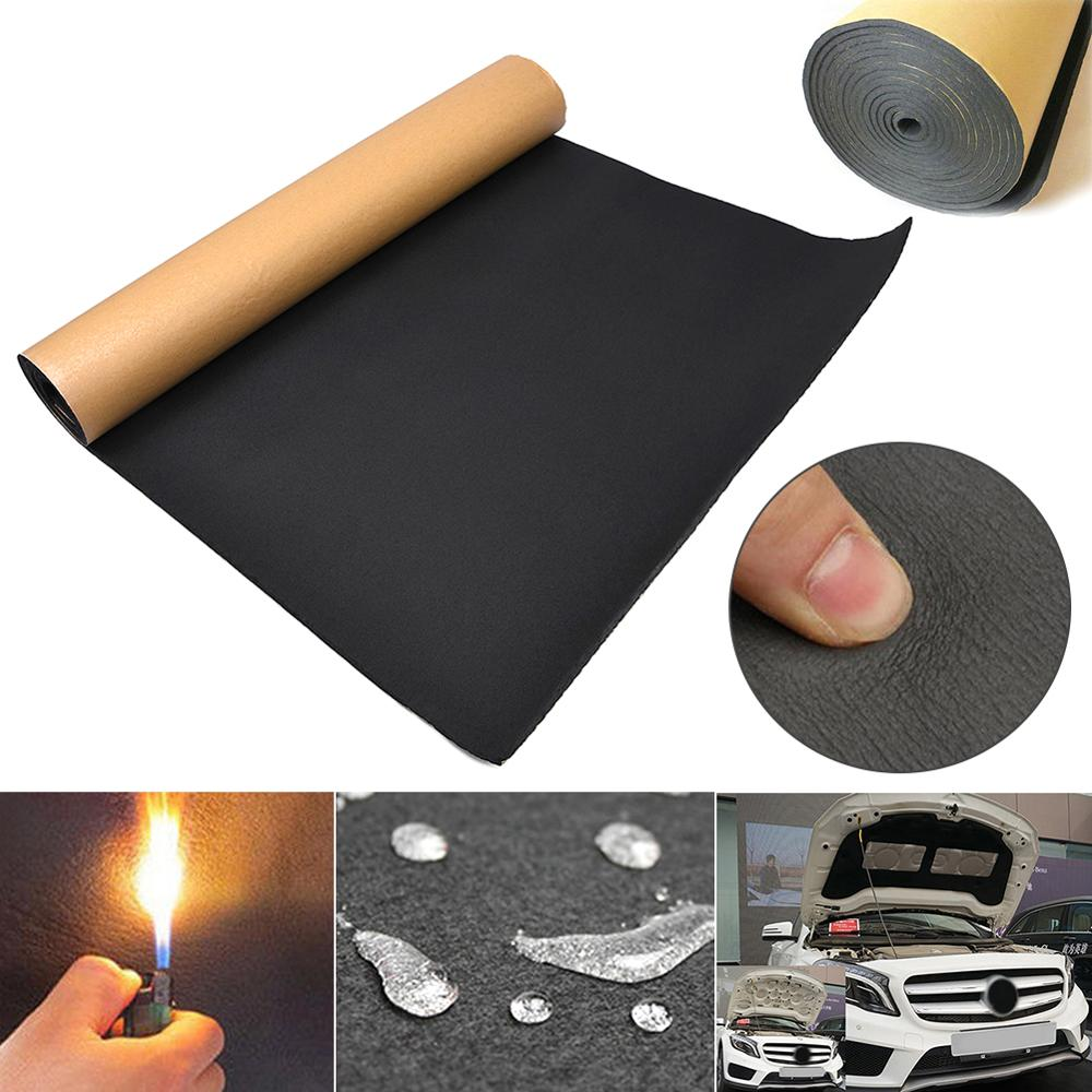 High Density 30 X 50cm Car Auto Van Sound Proofing Deadening Insulation 5mm Closed Cell Foam Efficient Sound Insulation Cotton Sound Heat Insulation Cotton Aliexpress