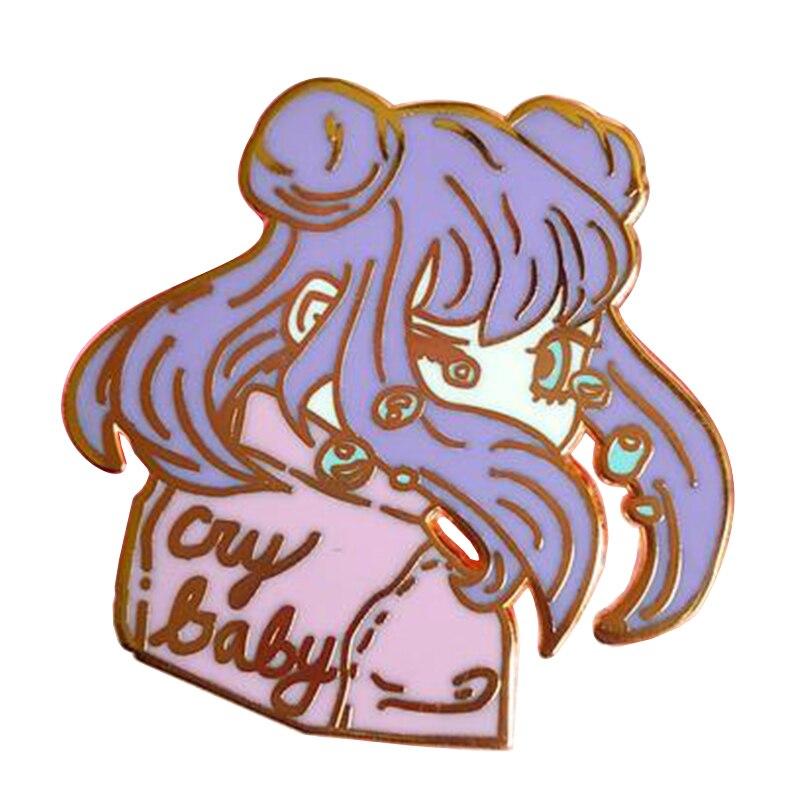 Детская эмалированная булавка