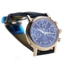 Sugess Luminour Dress Luxury  TianJin Movement Mechnical Mens Chronograph Watch Moonphase Calendar