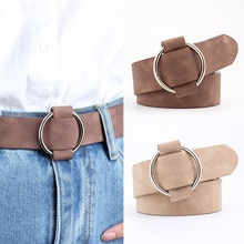 2021 New Fashion womens designer round casual ladies belts for jeans Modeling belts without buckles