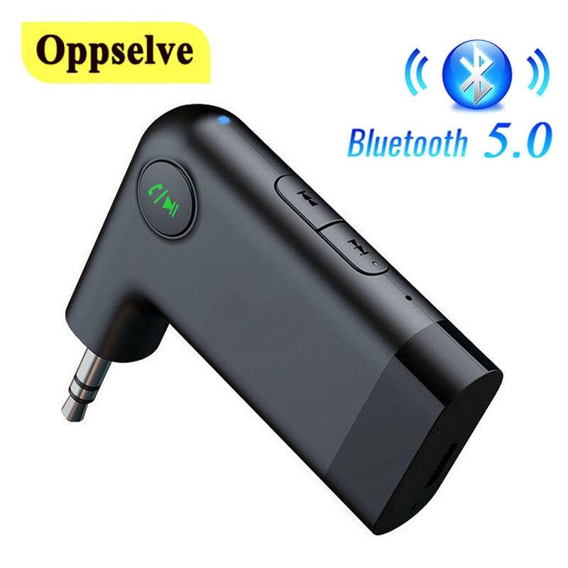 Автомобильный Aux Bluetooth 5,0 адаптер беспроводной аудиоресивер 3,5 мм разъем 3,5 мм Aux Bluetooth 5,0 приемник громкой связи автомобильный комплект