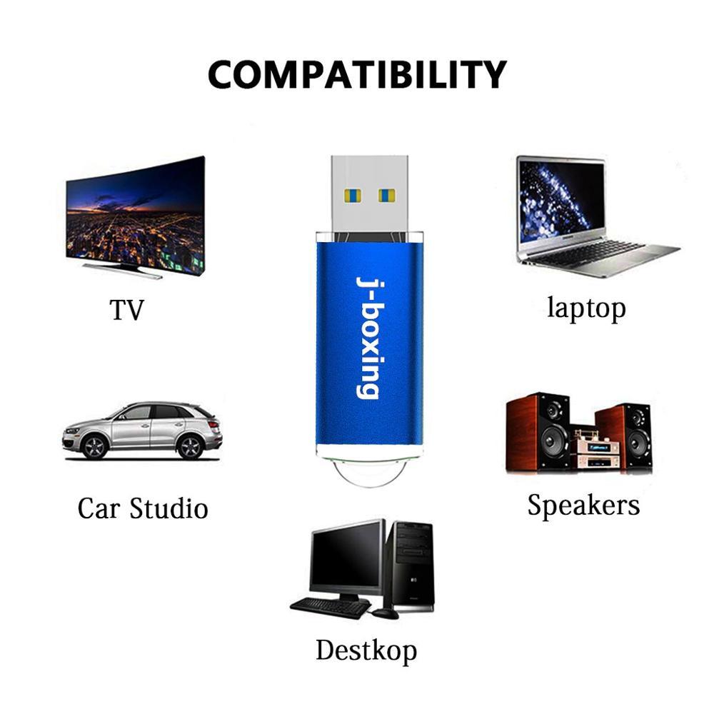 5PCS 64GB USB 3.0 Flash Drive High Speed 128GB Flash Stick Thumb Drive 32GB Memory Stick for PC/Laptop/PS4/External Storage Data enlarge