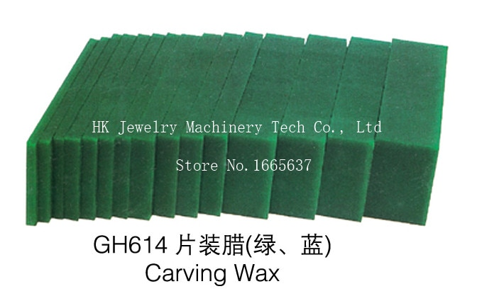 carving engraving wax goldsmith tool green jewelry waxing for injection setting jewelry making model Diy Jewelry Wax jeweler Tool Wax for Injection Carving Setting 1 set / pack