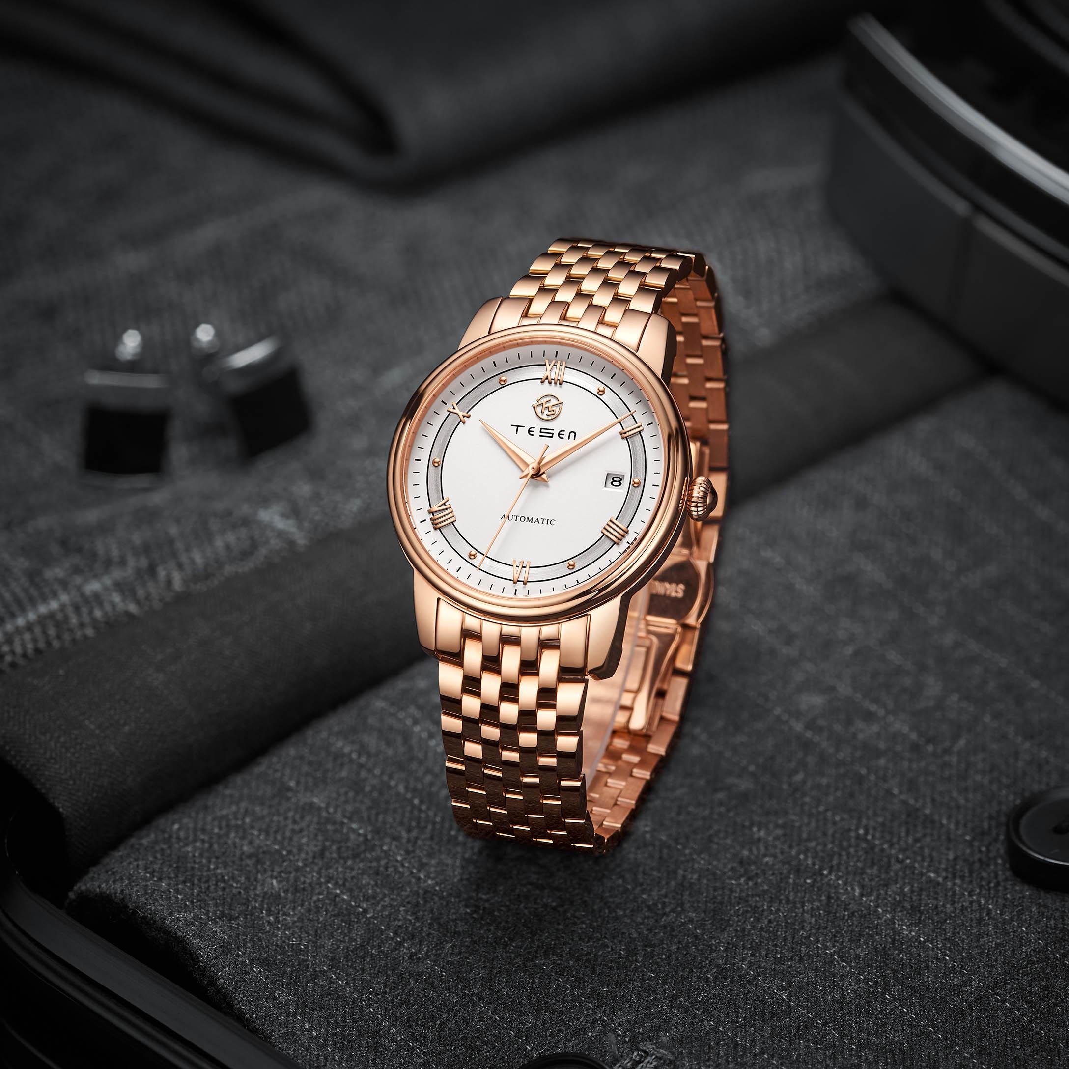 2021TESEN ORIENT MASCULINO Automatic Mechanic Watch Men Watch Men Luxury Brand Sports Fashion Stainless Steel Waterproof Watches enlarge