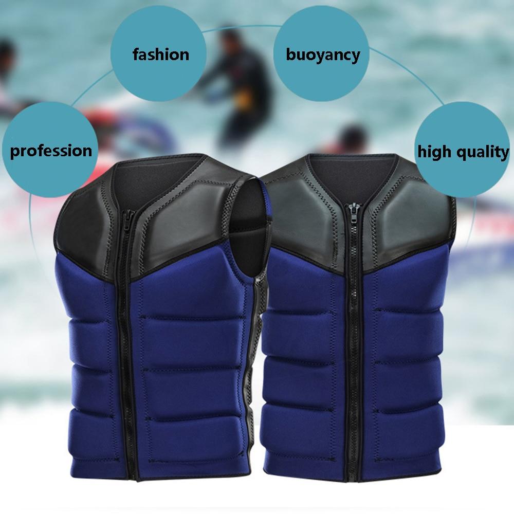 Спасательные жилеты для взрослых, мотоциклетные куртки с высокой плавучестью, для плавания, серфинга, рыбалки, избегающие столкновений