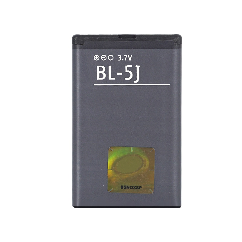 1 Uds., batería de BL-5J de 1320mAh para Nokia 5230 5233 5228 5800 3020 520 Lumia 525 530 5900 Xpress Music C3-00 N900 X1-01 X6 X9, batería