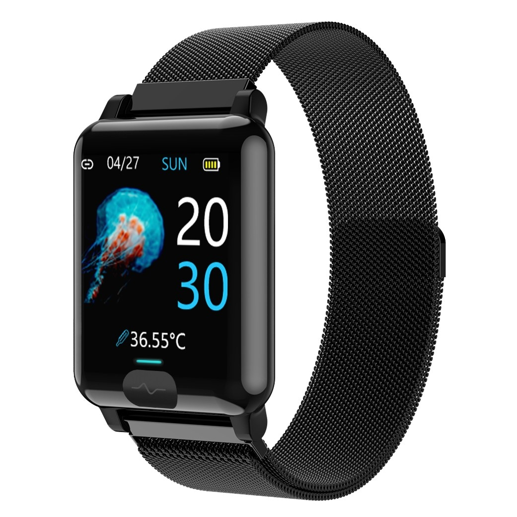 The New E04S Female Smart Watch HD 1.3-Inch Screen Supports Bluetooth 4.0 IP67 Swimming Grade Waterp
