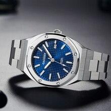 2020 NEW 42MM CADISEN OAK Men's Mechanical Watches Luxury Business Automatic Watch Men 100M Waterpro