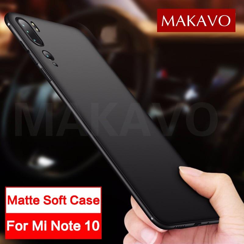 Funda de silicona suave mate delgada para Xiaomi mi Note 10 funda para xiaomi Xiaomi mi Note 10 Pro mi 10 Pro