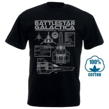 Battlestar galactica viper plantas s 5xl t camisa especificações logotipo colonial tv