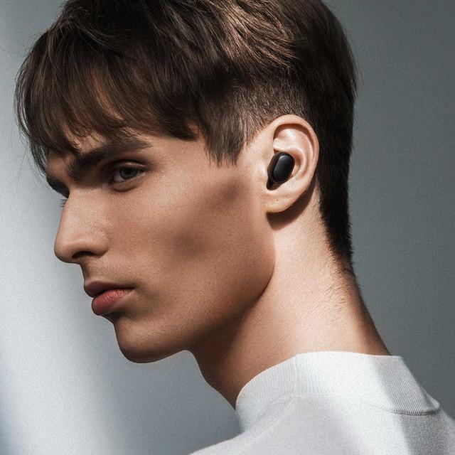 Xiaomi official Store Redmi Airdots S Airdots 2 Earphones Mi Xiaomi Wireless Headphones Bluetooth Air Dots Headset TWS Earbuds 6