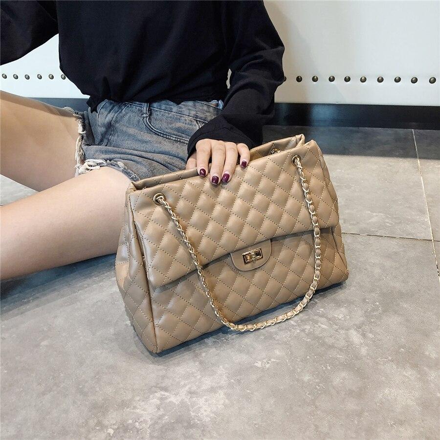 High Quality Women Pu Leather Shoulder Bag Fashion Designer Ladies Messenger Bags New Luxury Female Large Capacity Crossbody Bag