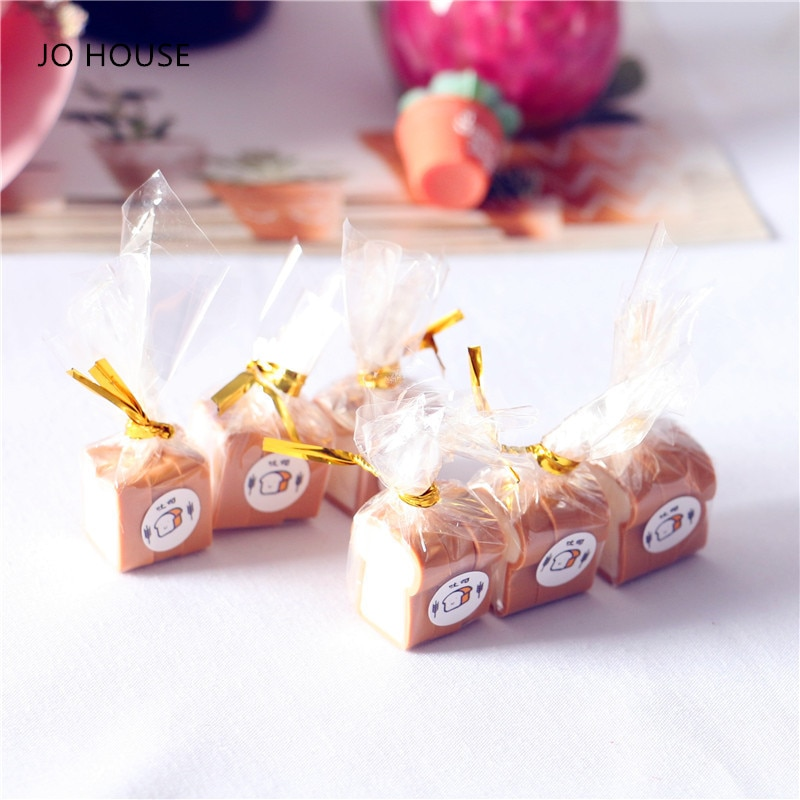 Миниатюрный Кукольный домик JO HOUSE, 1 пакет, миниатюрные Кухонные Игрушки для выпечки хлеба, игрушки для ролевых кукол, имитация еды